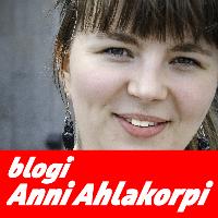 Blogaajana Anni Ahlakorpi