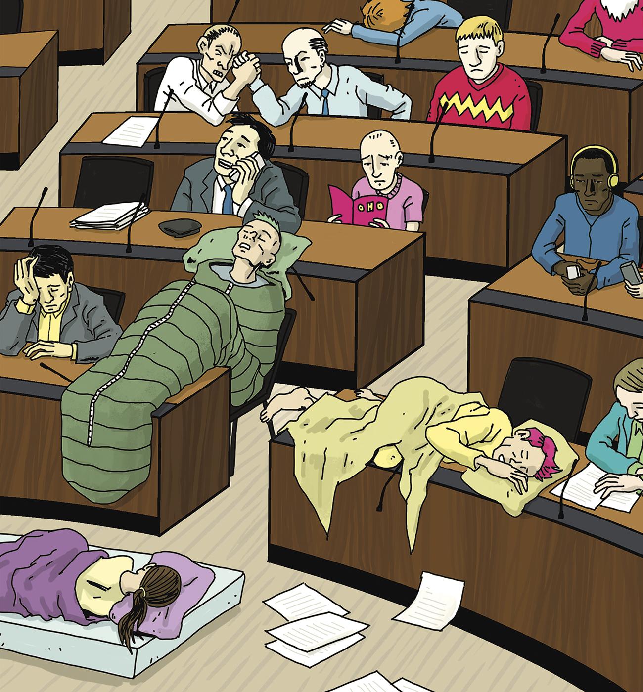 Nukkuuko nuori äänestäjä?