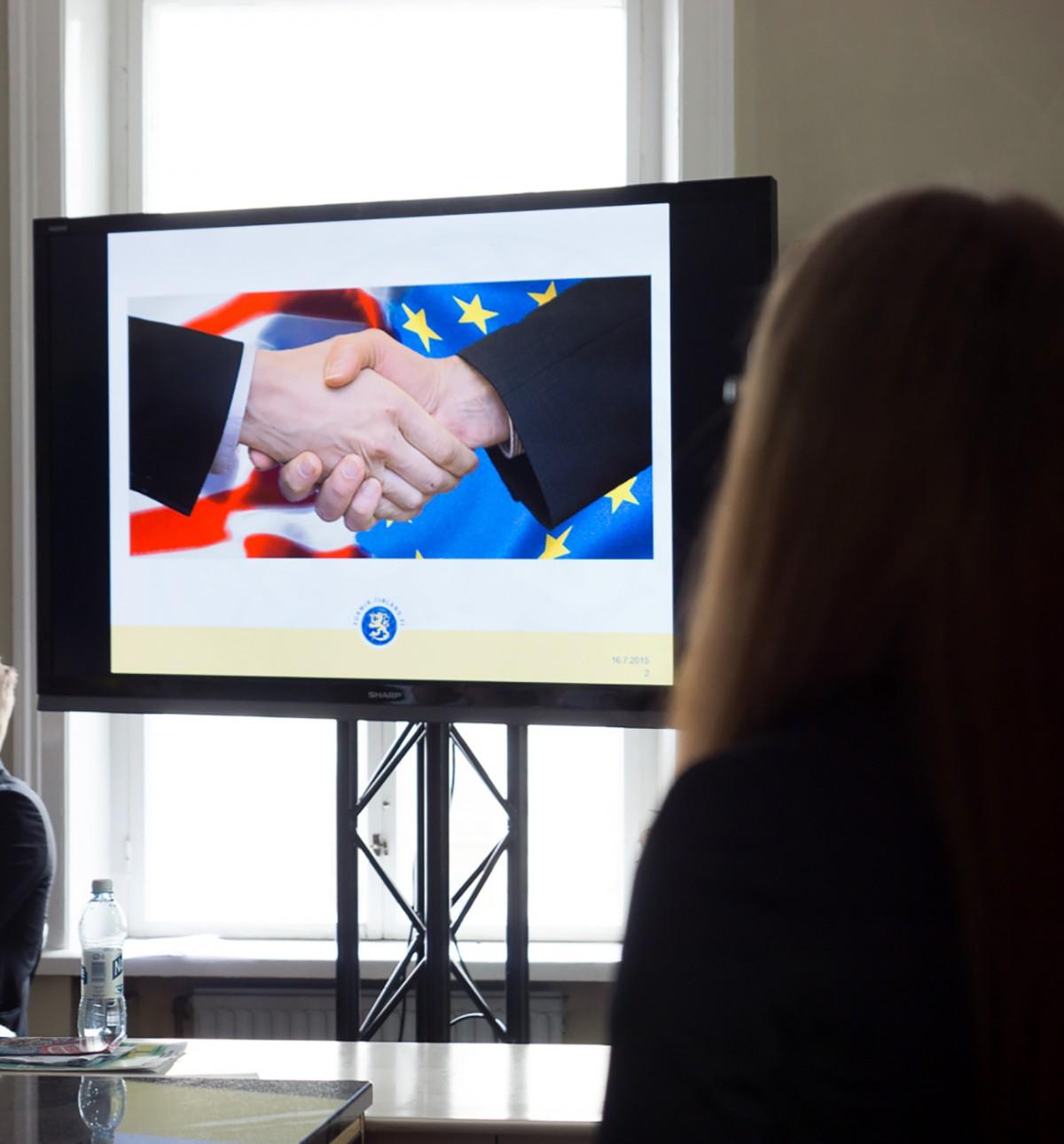 TTIP esillä SuomiAreenassa – eurooppalaisia arvoja maailmalle