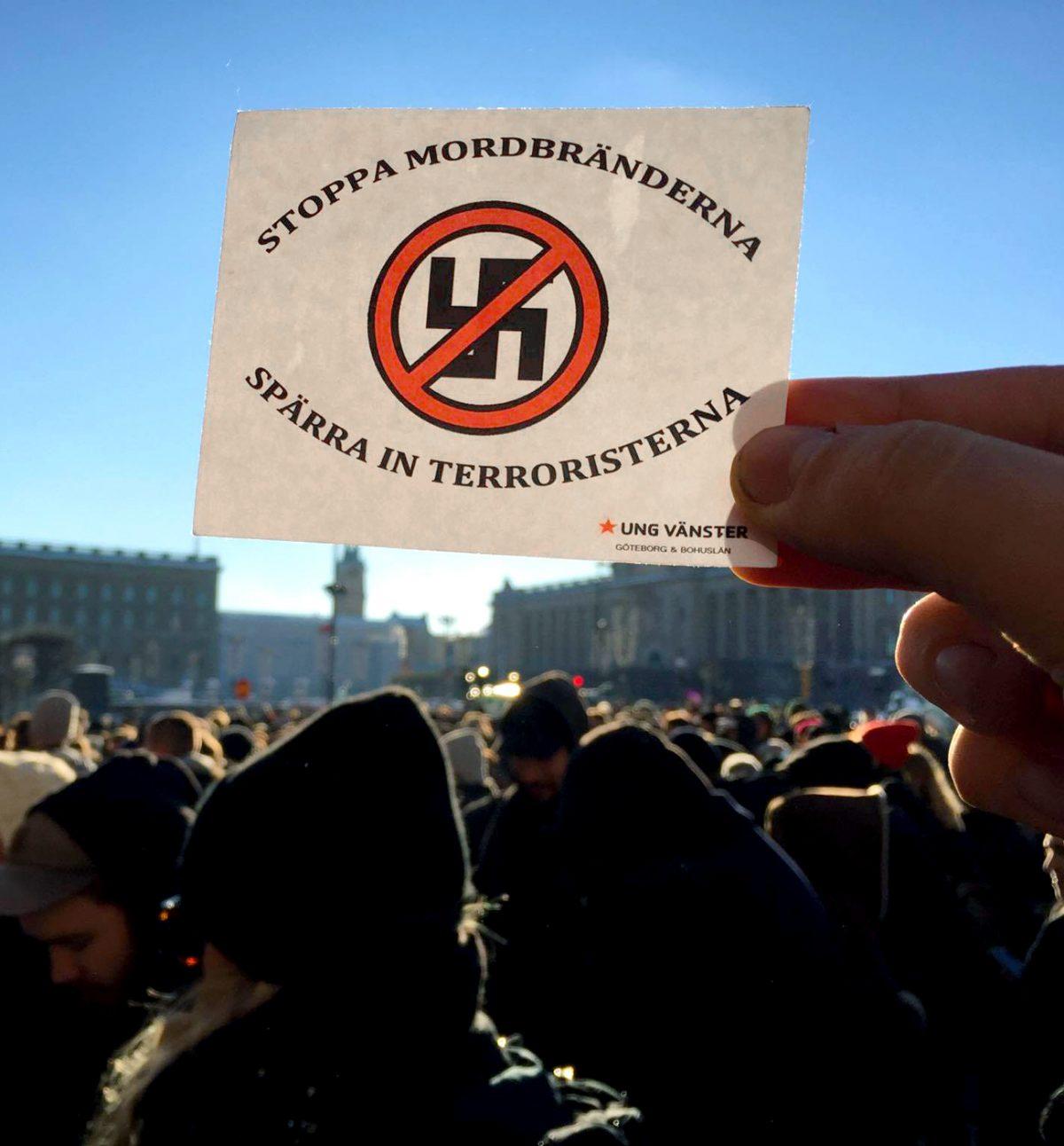 Tuhannet ruotsalaiset natseja vastassa