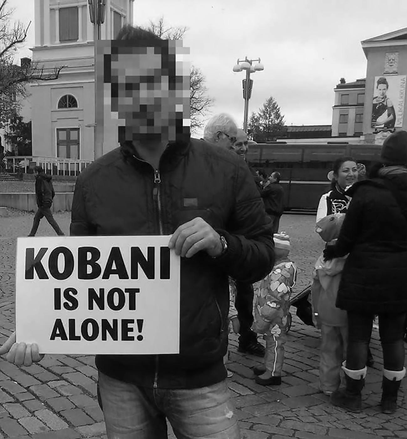 Kansanedustajia asettui kurdiaktivistin tueksi