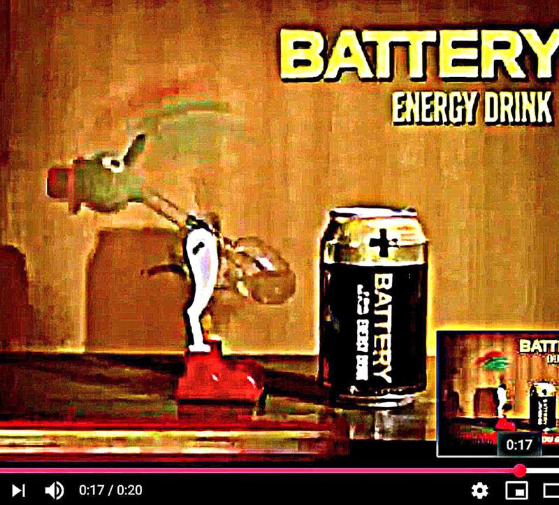 Battery-1997 mainos